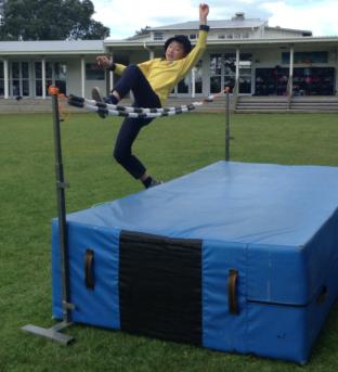 Leo high jump