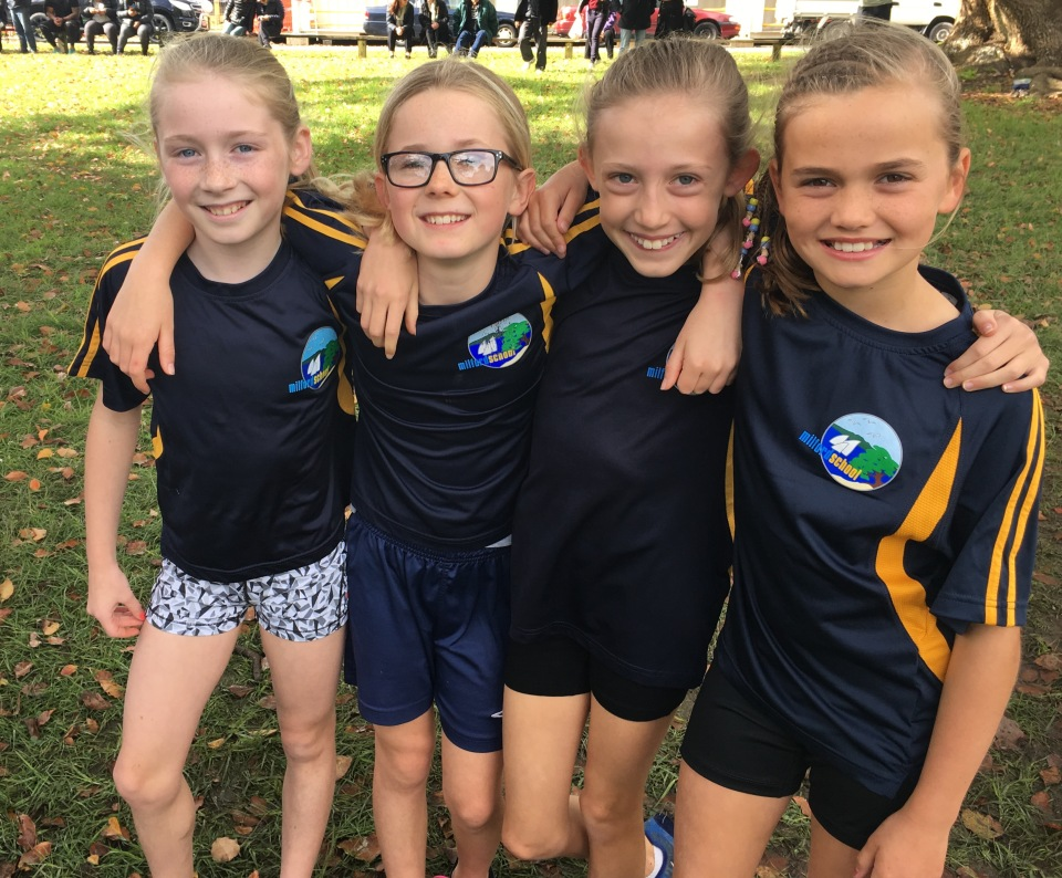 Yr 4 girls- Cluster Cross Country