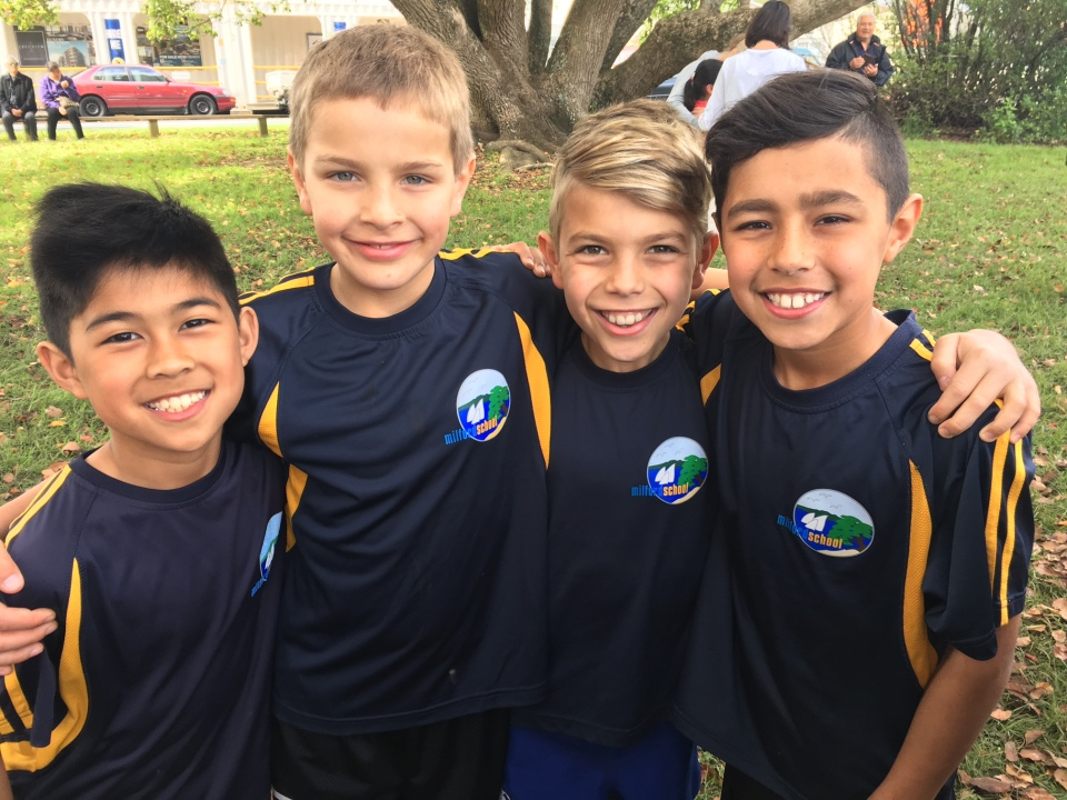 Yr 5 boys- Cluster Cross Country